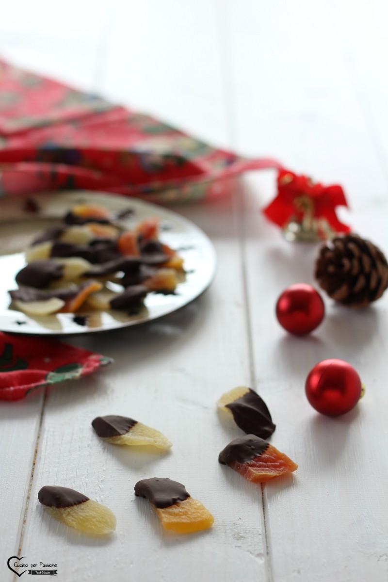 Frutta Ricoperta di Cioccolato