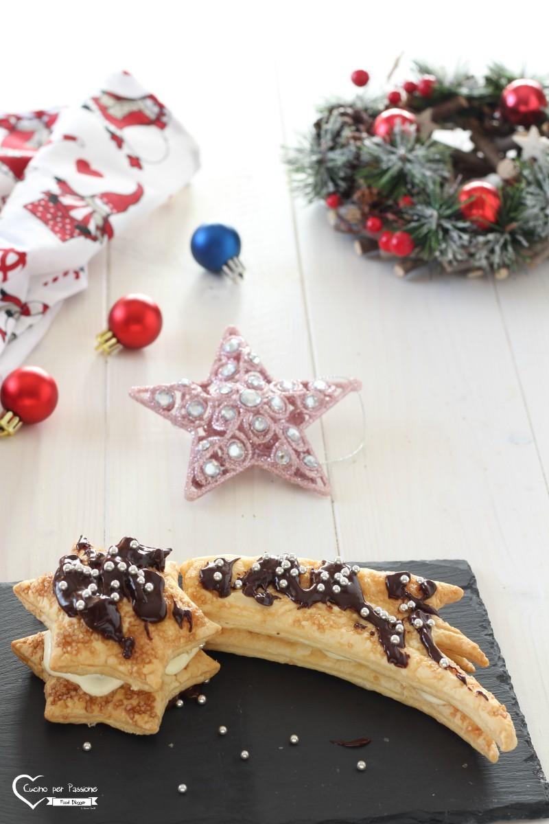 Stella di Natale di Pasta Sfoglia