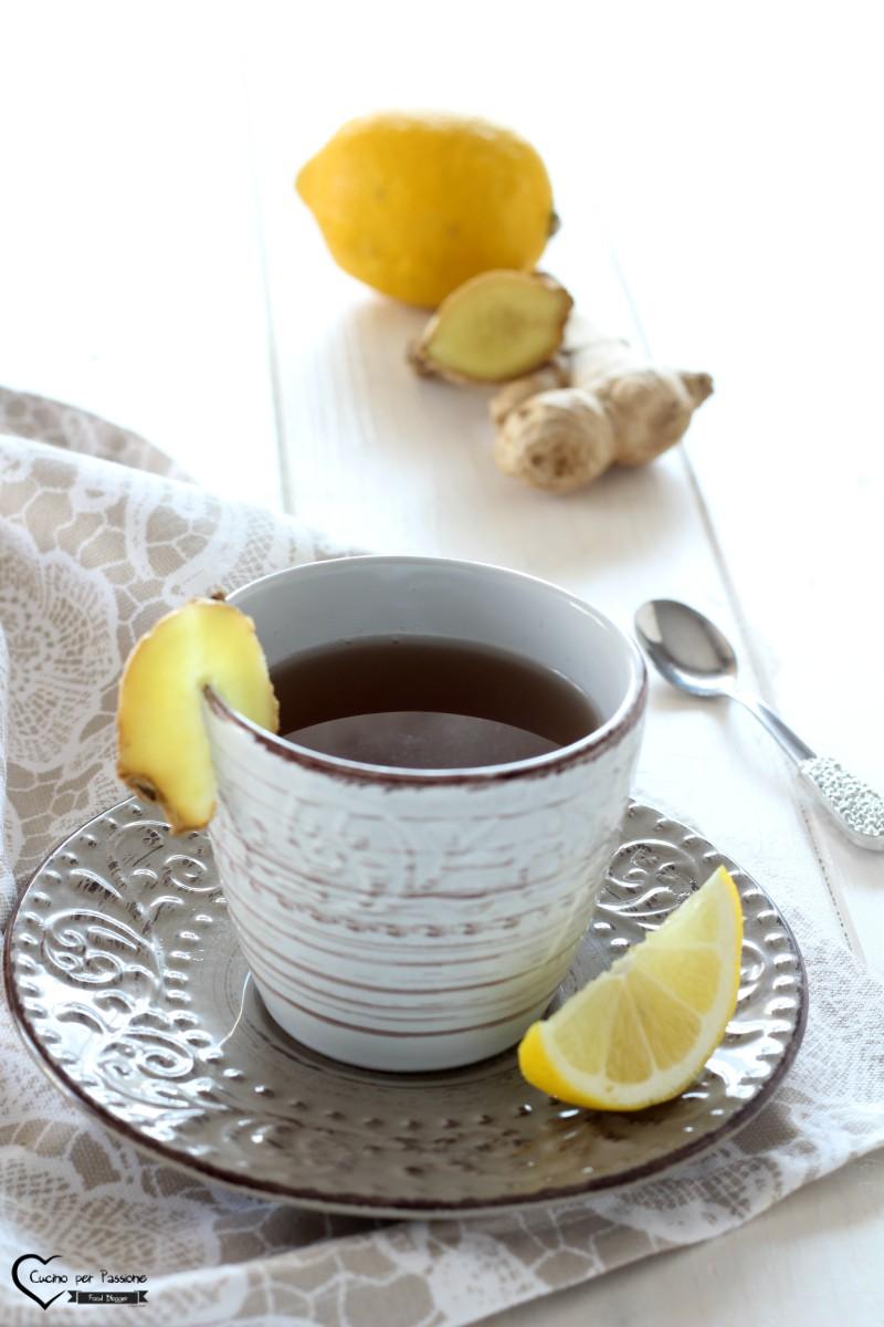 Acqua Limone e Zenzero – Tisana Mille Benefici