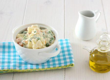 Insalata russa vegan – ricetta light