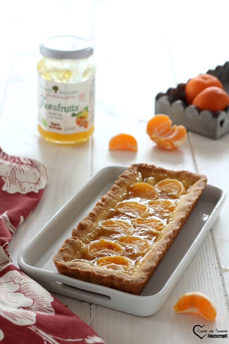Crostata di Mandarini Friabile e Leggera