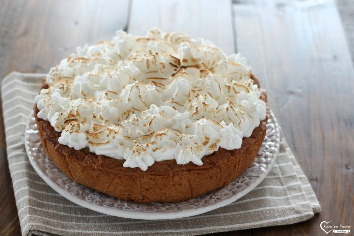 Lemon meringue pie knam