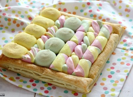 Torta di marshmallow solo 3 ingredienti