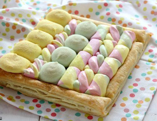 Torta di marshmallow solo 3 ingredienti