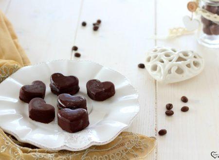 Cioccolatini ripieni al caffè