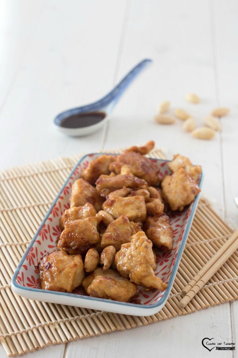 Pollo con le mandorle gustosissimo