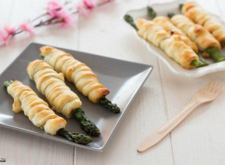 Asparagi in crosta con pancetta