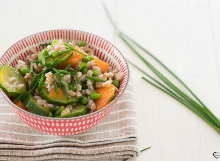 Insalata di farro con verdure