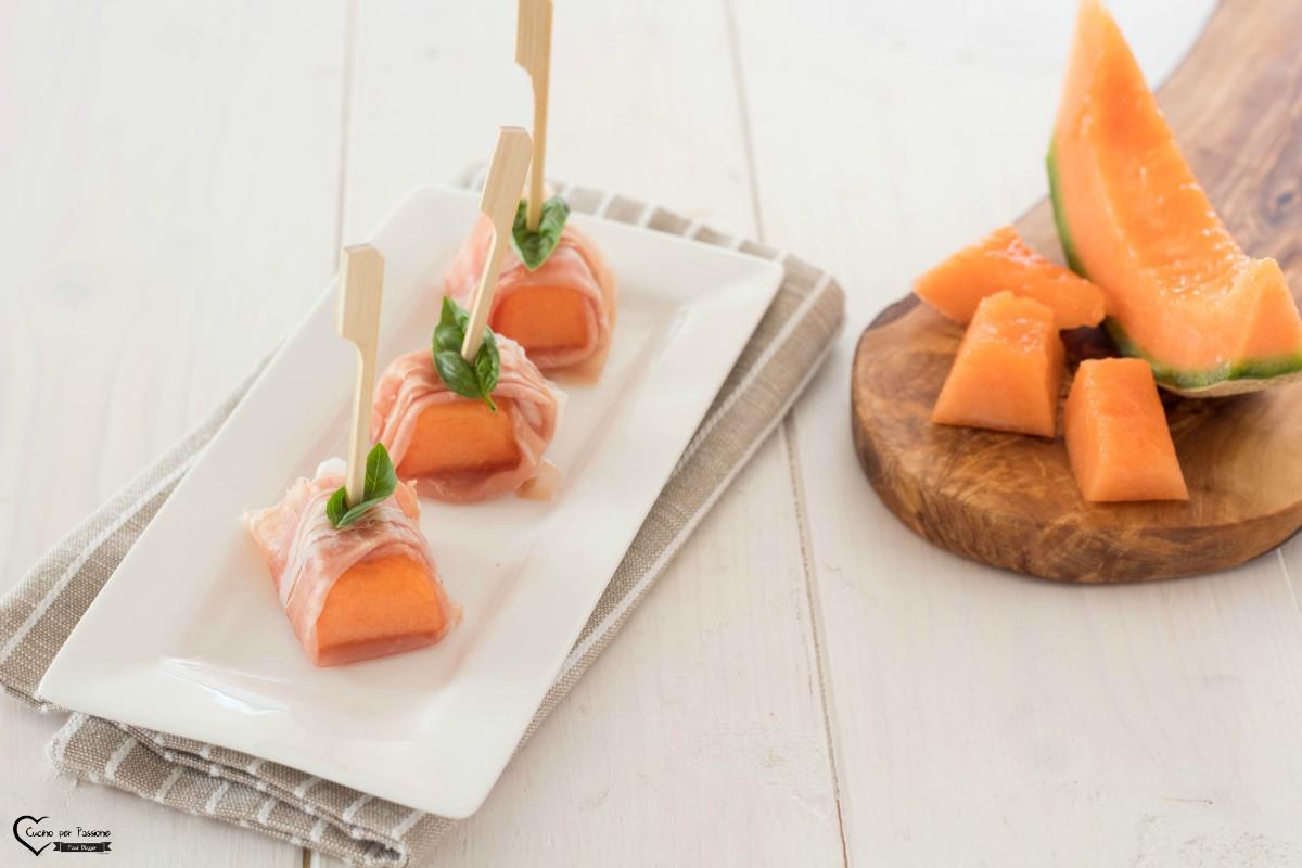 Antipasto melone prosciutto e fichi