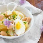 Insalata di patate e uova