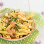 Pasta salmone e asparagi