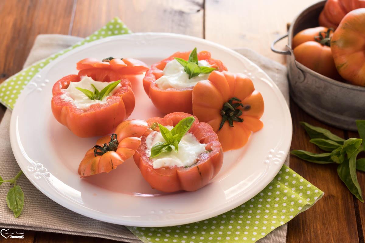 Antipasto veloce e sfizioso di pomodorini