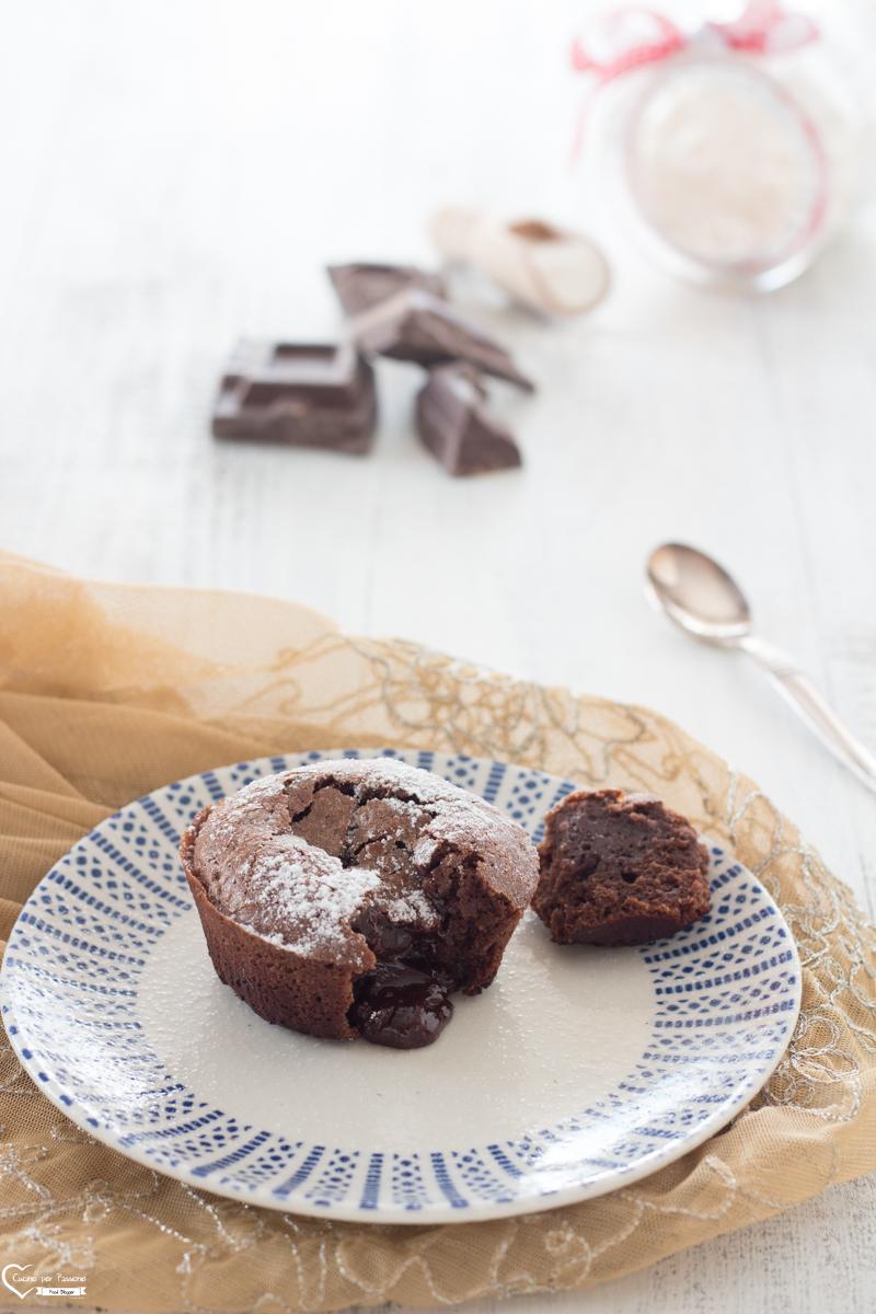 Tortino al cioccolato cuore morbido