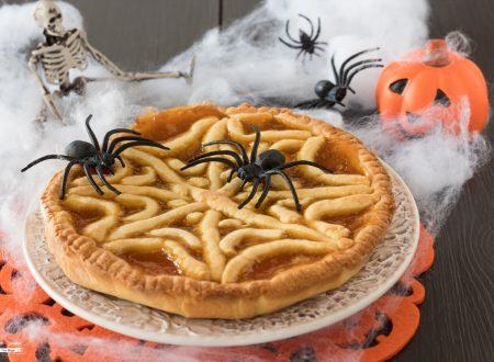 Crostata ragnatela per Halloween