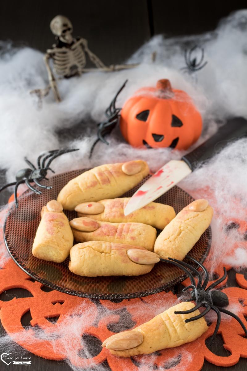 Dita di Strega Biscotti Halloween