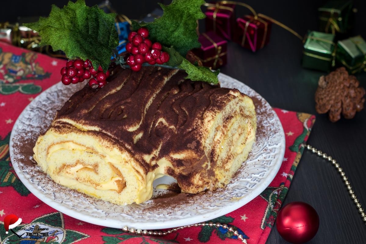 Tronchetto Di Natale Vegano.Tronchetto Di Natale Ricetta Con Crema Mascarpone