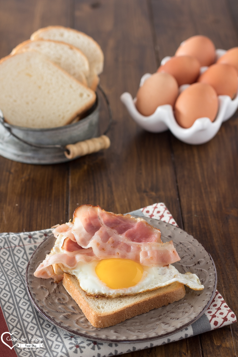 Uova con Pancetta