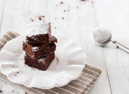 Brownies al cioccolato solo 3 ingredienti