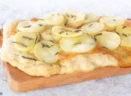 Focaccia senza lievitazione con patate