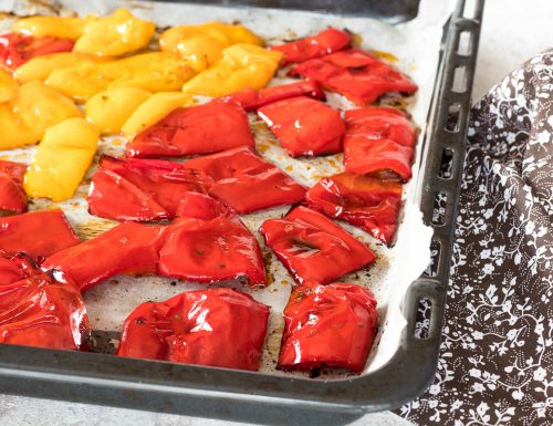 Peperoni al forno veloci e gustosi
