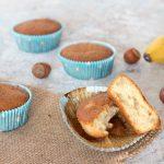 Muffin alla banana deliziosi e soffici muffin perfetti per la colazione o la merenda, molto comodi da trasportare, perfetti quindi da portare a scuola in ufficio, in palestra o durante le gite