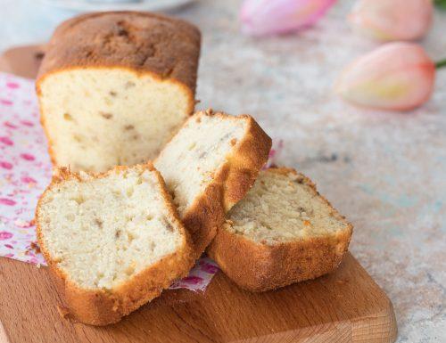 Plumcake salato con prosciutto