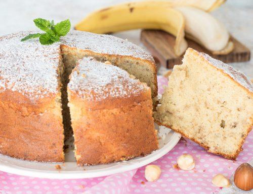 Torta alle banane vegan