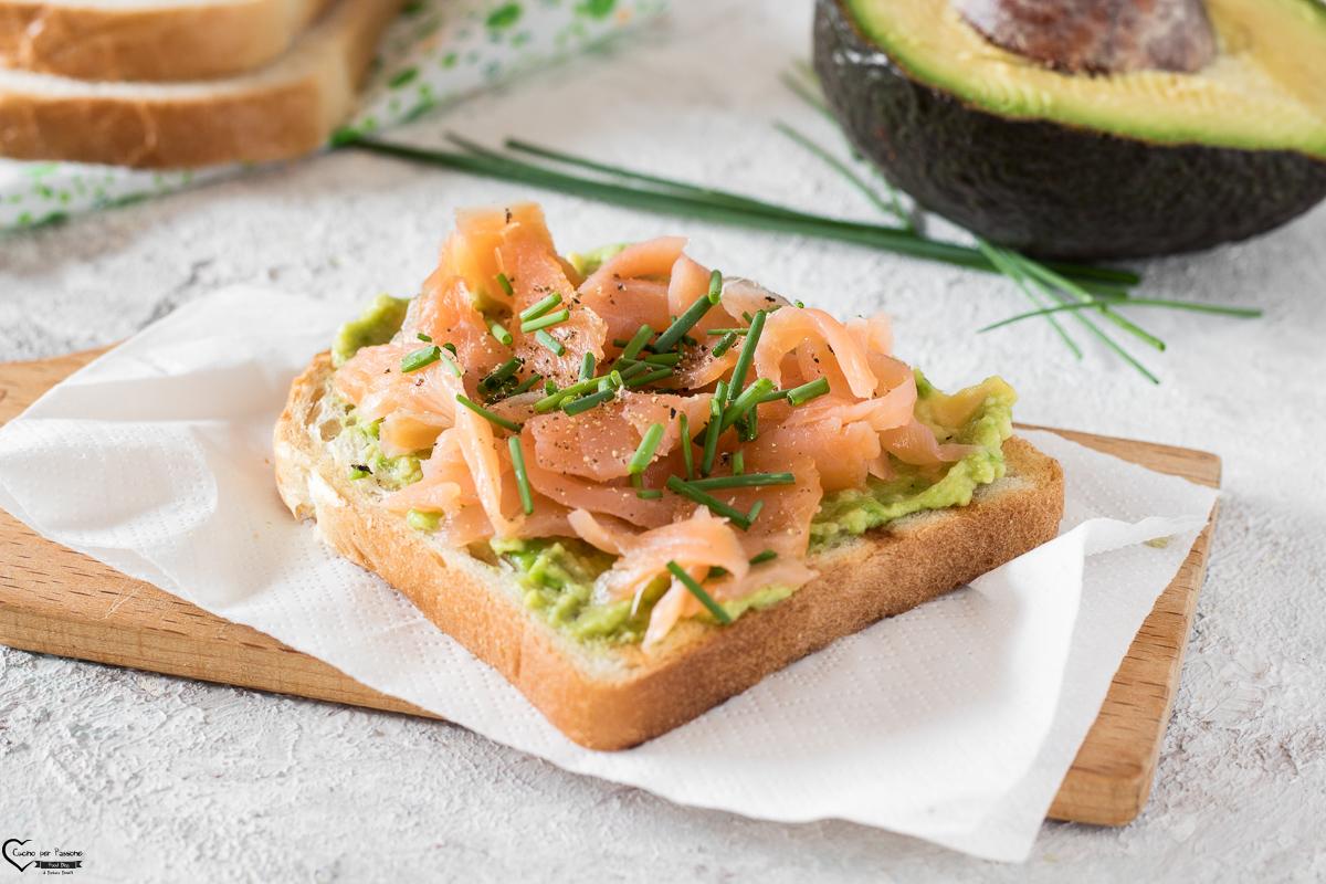 Avocado Toast con Salmone