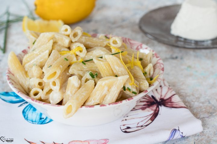 Pasta ricotta e limone