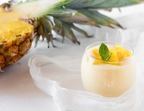 Crema mascarpone e ananas