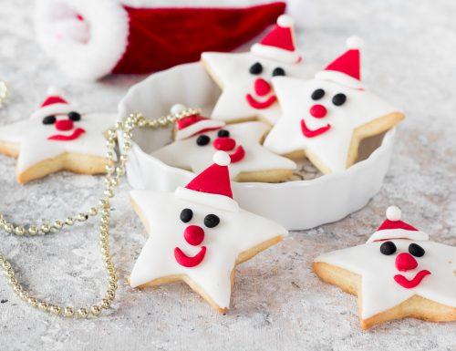 Biscotti di Natale con pasta di zucchero