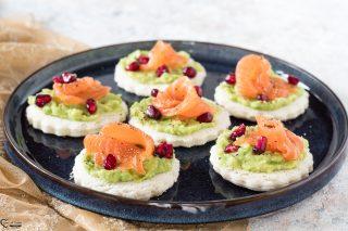 Tartine salmone e avocado