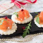 Tartine salmone e ricotta