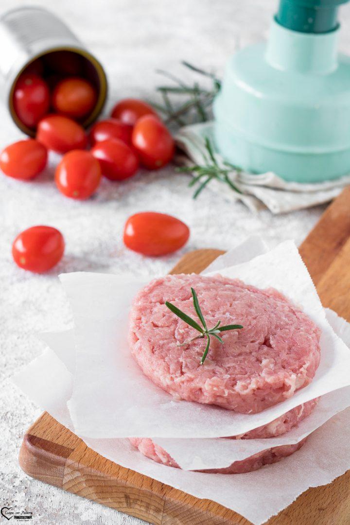Hamburger di vitello