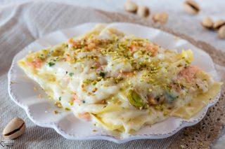 Lasagne con salmone affumicato