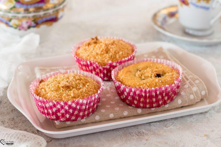 Muffin al cocco vegan