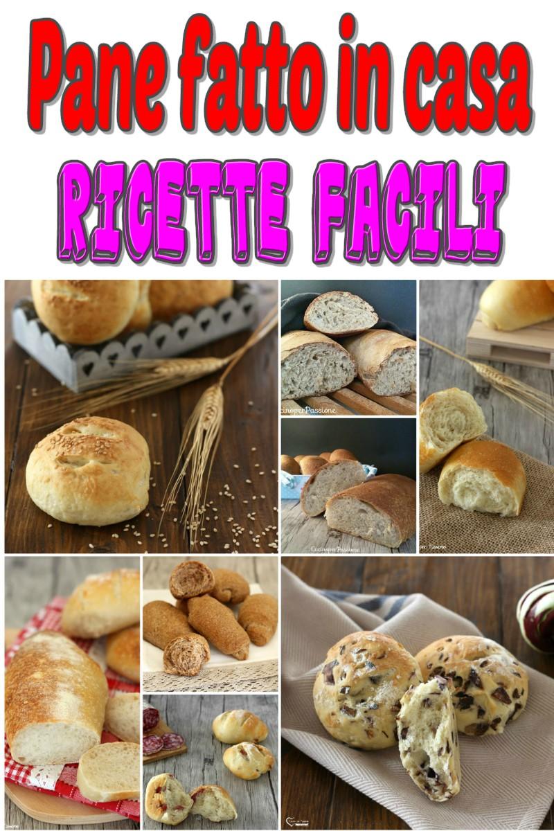 Pane fatto in casa ricette facili