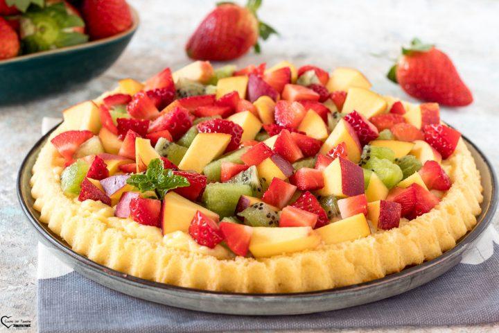 crostata con frutta fresca