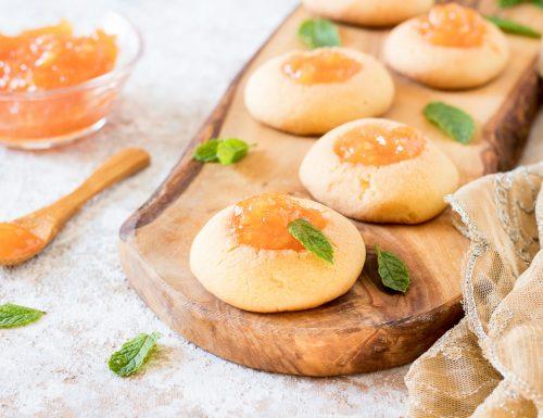 Biscotti ovis mollis alla marmellata
