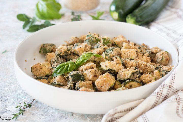 zucchine sabbiose al forno