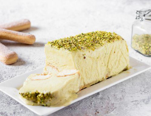 Semifreddo al pistacchio e mascarpone