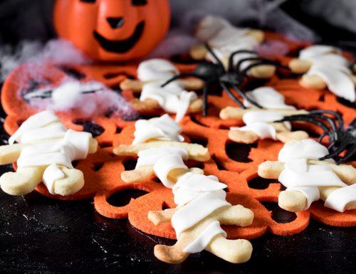 MUMMIE DI PASTA FROLLA per Halloween