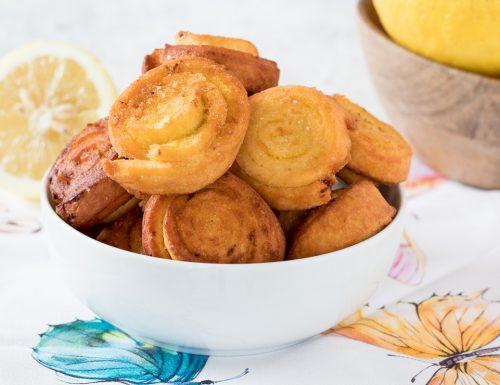 LIMONCINI biscotti al limone senza burro