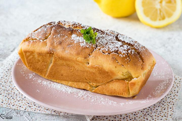 Plumcake al limone