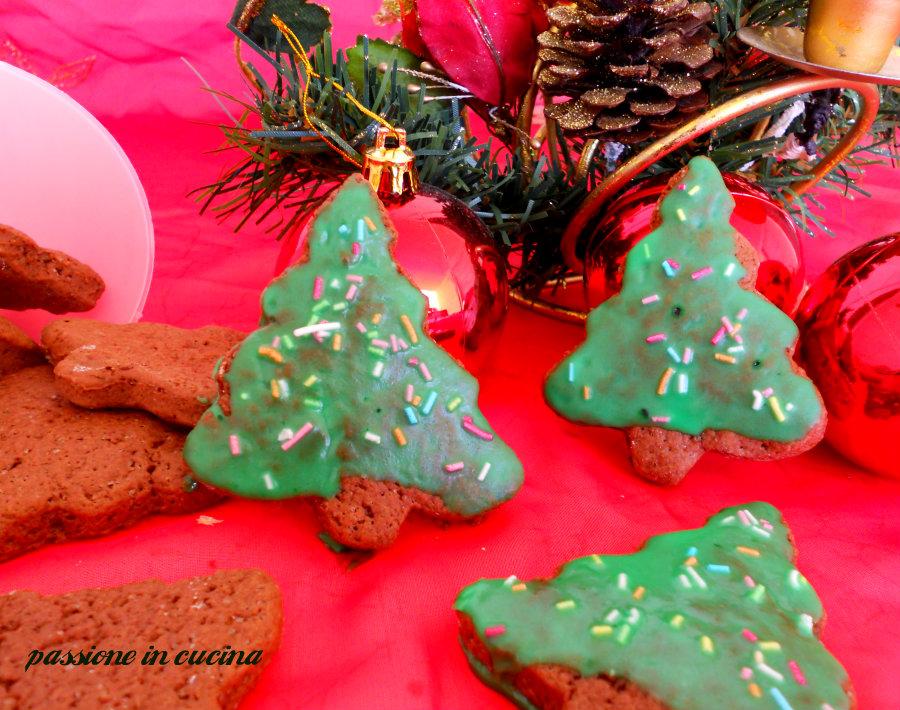 biscottini cacao e cannella glassati