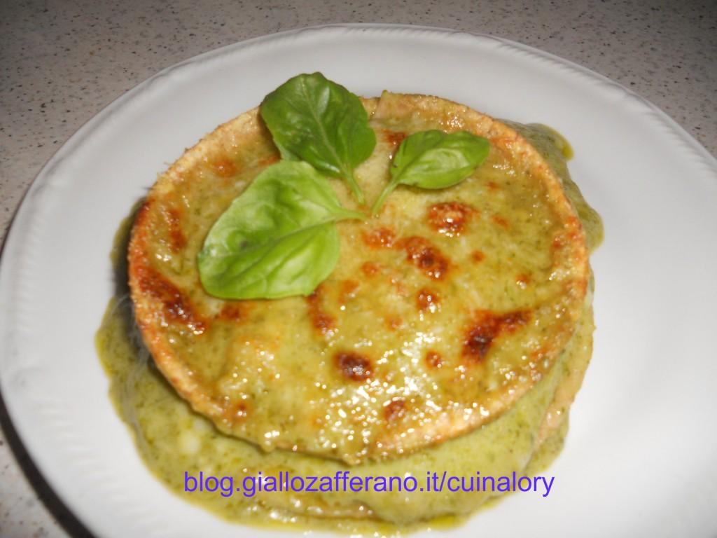 pesto. lasagnette integrali ricette con il pesto, primi piatti con pesto