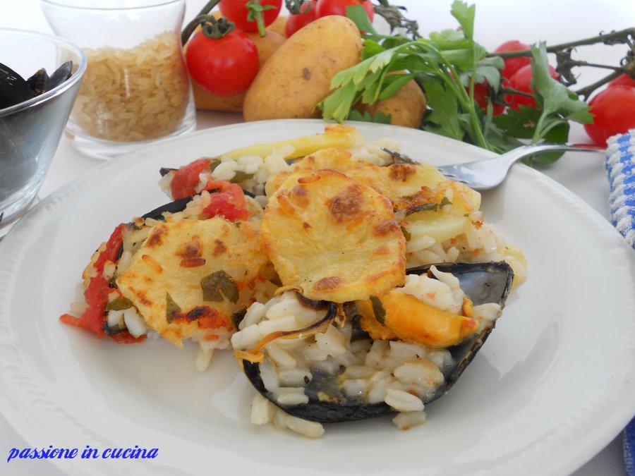 riso patate e cozze-tiella barese blog.giallozafferano.it/cuinalory
