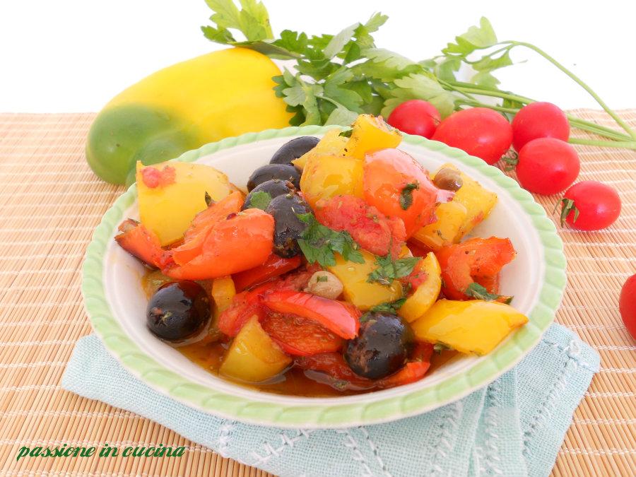 peperoni alla pizzaiola-ricetta vegetariana blog.giallozafferano.it/cuinalory