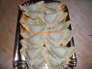 ravioli con spinaci e philad