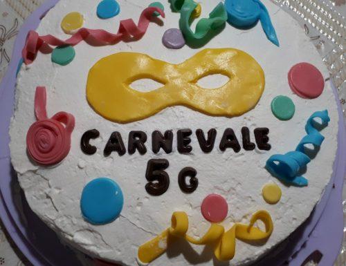 TORTA ALLA NUTELLA- RICETTA DI CARNEVALE